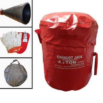 4T EXHAUST AIR JACK LIFTING BAG recovery 4 x 4 rescue SUV landrover offroad